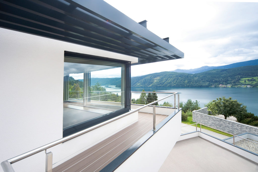 fenêtre sur-mesure et garde corps PVC annonay