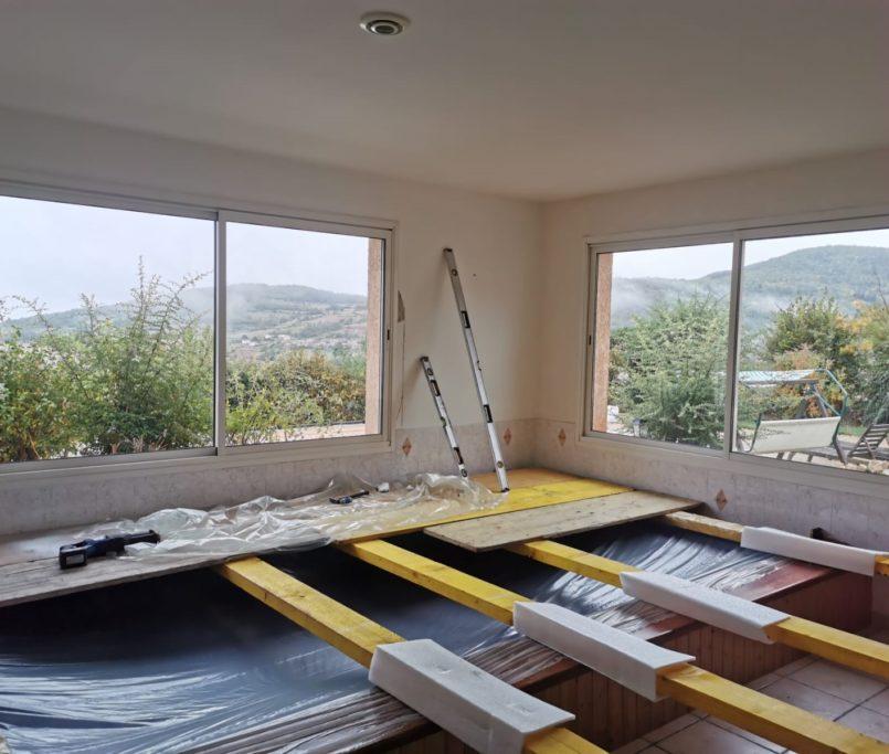 chantier fenêtre annonay